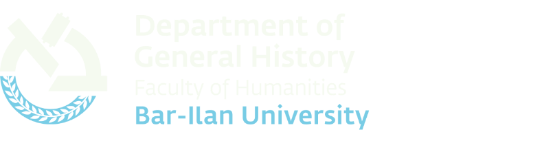 Department of General History - Home